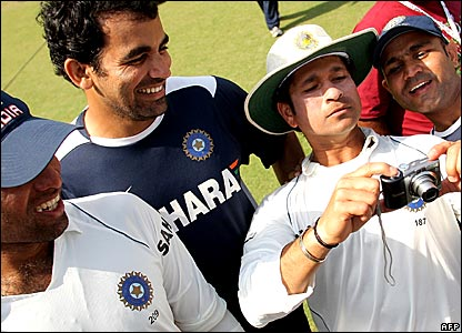 Sachin Tendulkar calls the shots