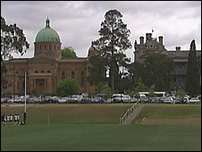 A screen grab of Xavier College, Melbourne, Australia