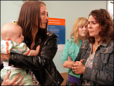 A scene from Hollyoaks