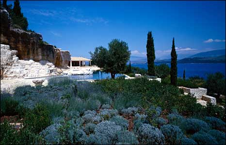 The Rothschild estate on Corfu