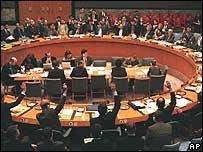 Votaci�n en el Consejo de Seguridad de la ONU