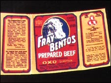 Fray Bentos label