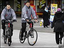 Ethnic Moroccans in Slotervaart neighbourhood, Amsterdam