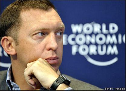 Олег Дерипаска на Всемирном экономическом форуме