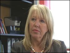 Deputy children's commissioner Maria Battle