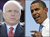 أوباما وماكين