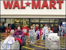 Wal-Mart shop