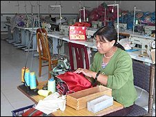 China seamstress