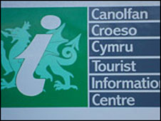Tourist Information Centre sign