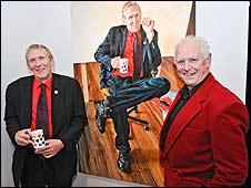 Philip Ledbury and David Fisher (Pic Peter Stone)