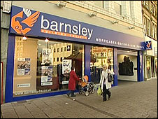 Barnsley building society branch
