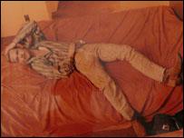 Brad Pitt, fotograf�a de Annie Leibovitz.