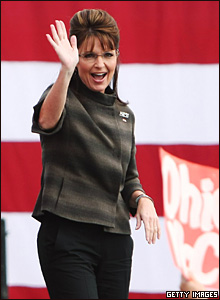 Governor Sarah Palin campaigns