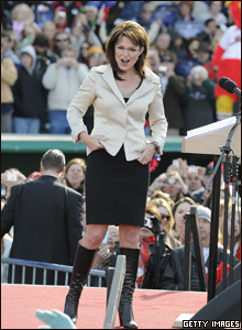 Governor Sarah Palin campaigns in Lancaster, Pennsylvania, 18 Oct