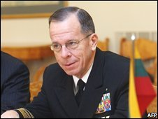 Adm Mullen in Lithuania on Oct 22