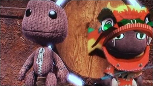 Game characters from LittleBigPlanet