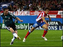 Robbie Keane puts Liverpool ahead in Madrid