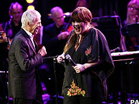 Burt Bacharach and Adele
