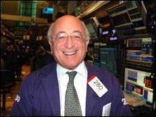 Teddy Weisburg smiles on the trading floor