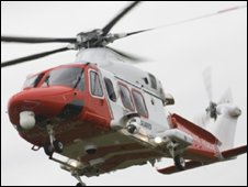 The AW139 helicopter