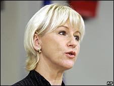 European Commission Vice President Margot Wallstroem