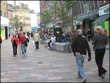 Stirling city centre