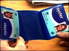 An Oyster Zip Card