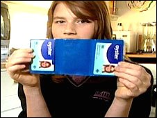 Ruth Lyons with her Oyster Zip Card