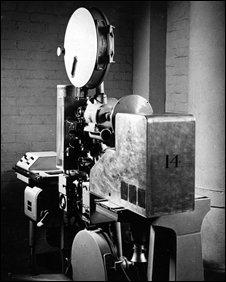 Film projector (BBC)