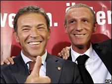 Joerg Haider and Stefan Petzner