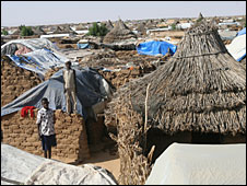 Abu Shouk camp, Darfur, 2007