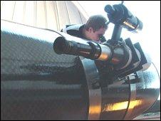 The new telescope at Cardiff University
