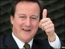 David Cameron in Glenrothes