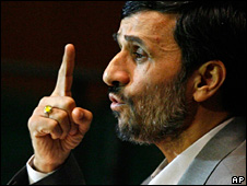 Mahmoud Ahmadinejad (file)