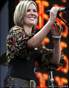 Dido at Live 8