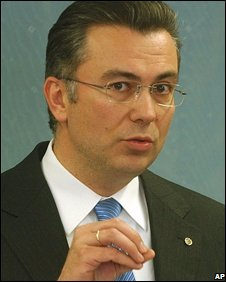 Greek Minister of State Theodore Roussopoulos