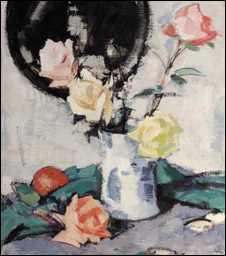 Roses by Samuel Peploe