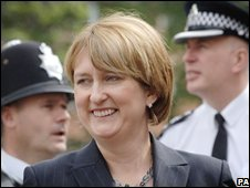 British Home Secretary Jacqui Smith, file pic from 2007