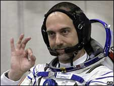 US astronaut Richard Garriott