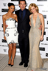 Thandie Newton, Josh Brolin and Elizabeth Banks