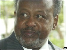 File photo of Djibouti President Omah Guelleh