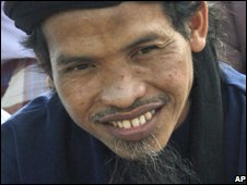 Ali Ghufron, aka Mukhlas,at Batu prison on Nusakambangan island, Indonesia (01/10/2008)