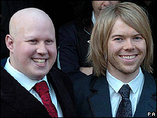 Matt Lucas and former partner Kevin McGee