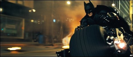"A scene from dark dark ""The Dark Knight."""
