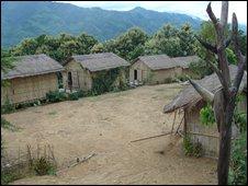 Mizo village