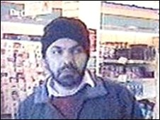 A picture of Maninder Pal Singh Kohli was taken by a CCTV camera shortly before he left the UK