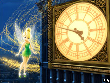 Tinkerbell and Big Ben tower