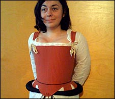 Wearing a 1588 bodice