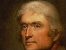 Thomas Jefferson by Rembrandt Peale. Copyright: Thomas Jefferson Foundation/Monticello.