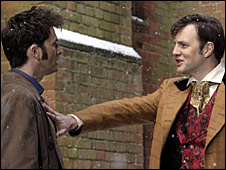 David Tennant and David Morrissey